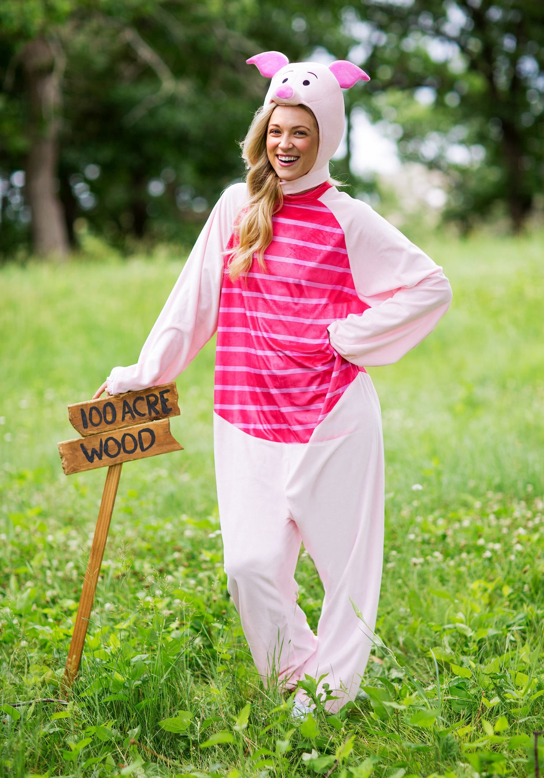 piglet halloween costume for adults