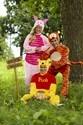Winnie the Pooh Piglet Deluxe Adult Costume Alt 7