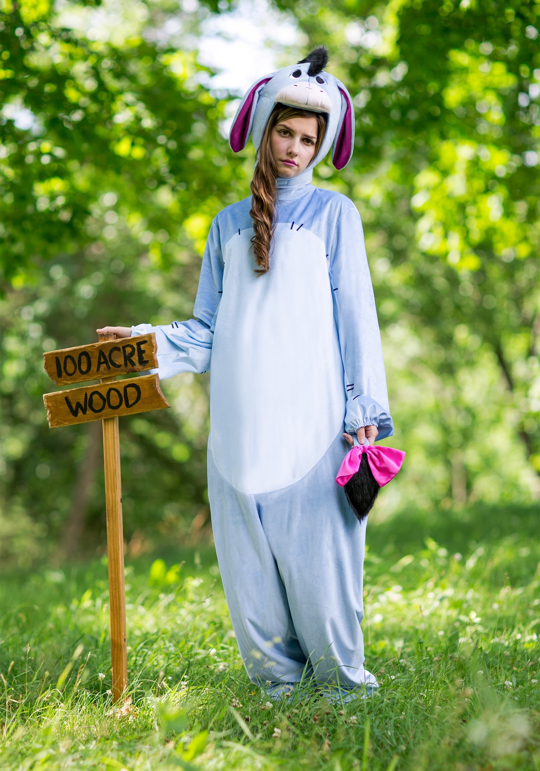 Winnie the pooh costumes tigger costumes piglet costumes for adult deluxe eeyore costume solutioingenieria Images