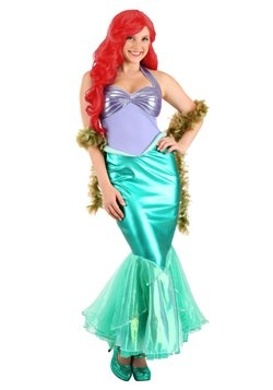 Little Mermaid Ariel Deluxe Womens Costume