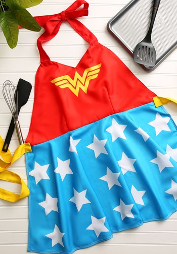 Wonder Woman Fashion Apron Update