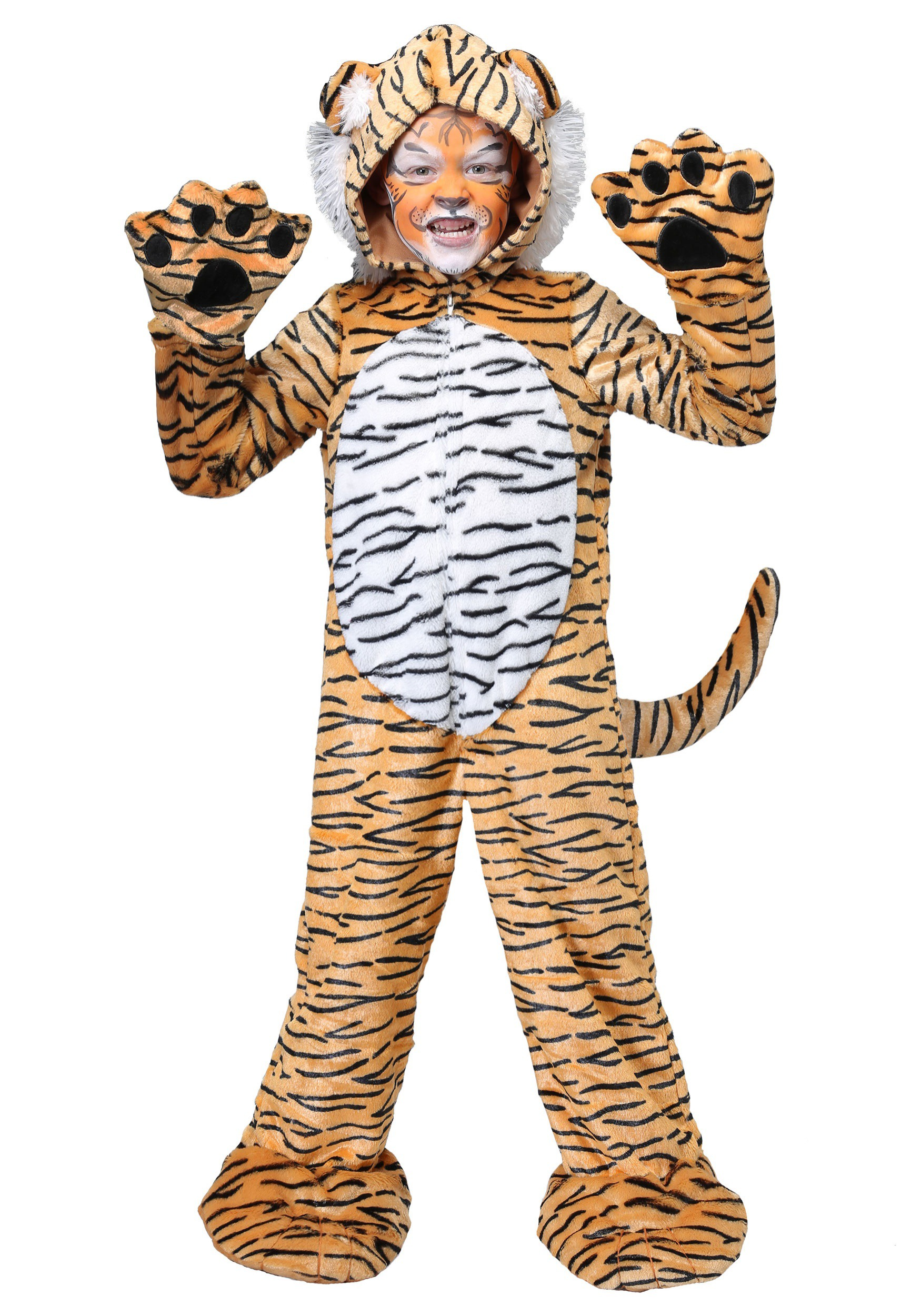 Premium Tiger Child Costume  sc 1 st  Halloween Costumes & Tiger Costumes For Adults u0026 Kids - HalloweenCostumes.com