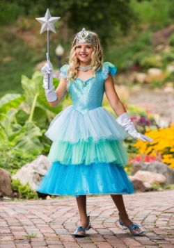 Girls Aquamarine Princess Costume