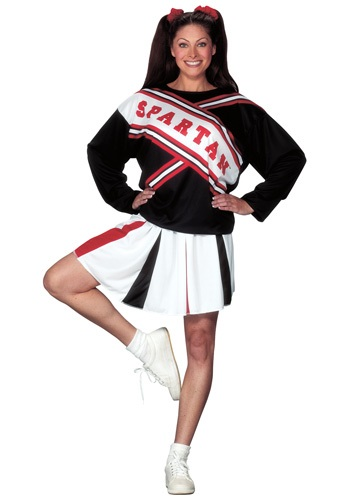 Click Here to buy Spartan Cheerleader Costume from HalloweenCostumes, USA Funds & Shipping