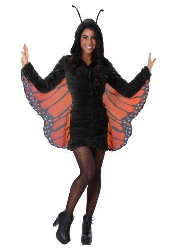 Women's Cozy Monarch Costume
