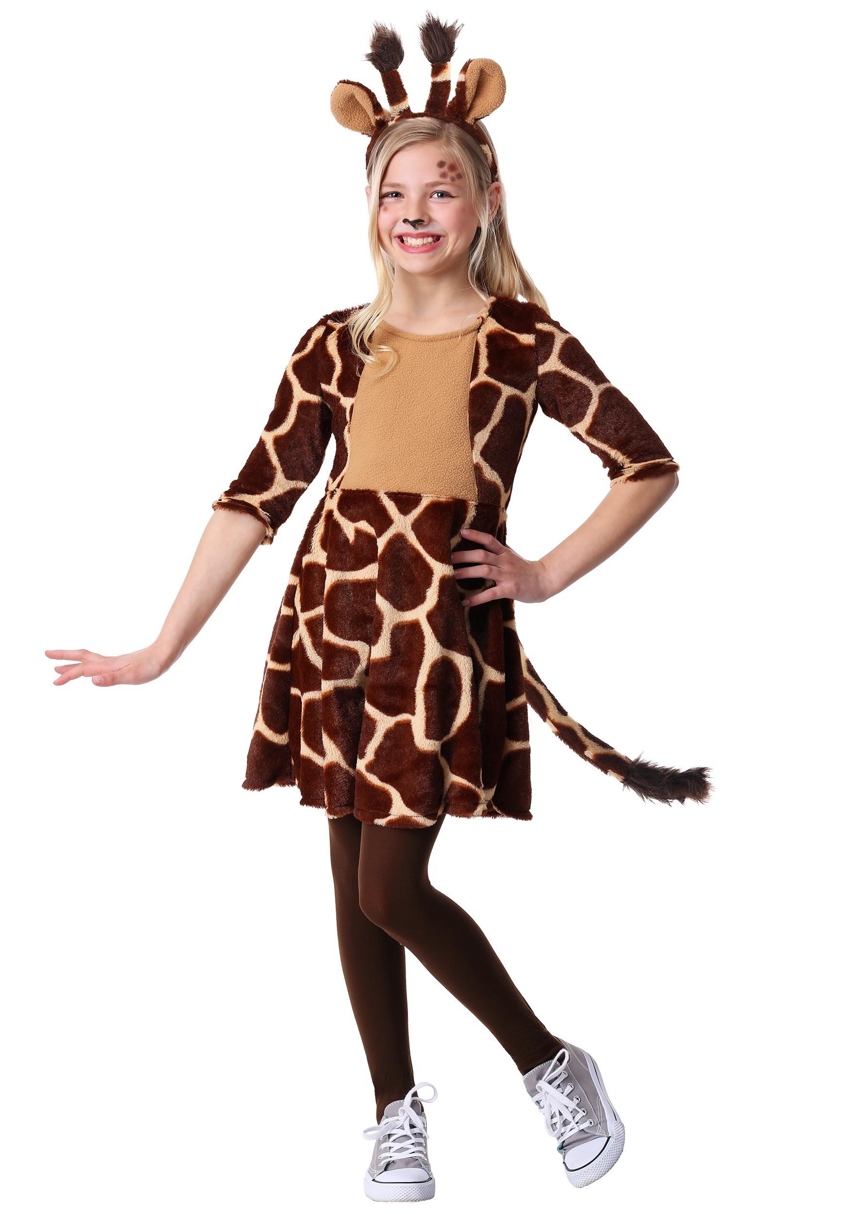 Giraffe Costume For Girls