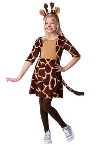 Girl's Giraffe Costume