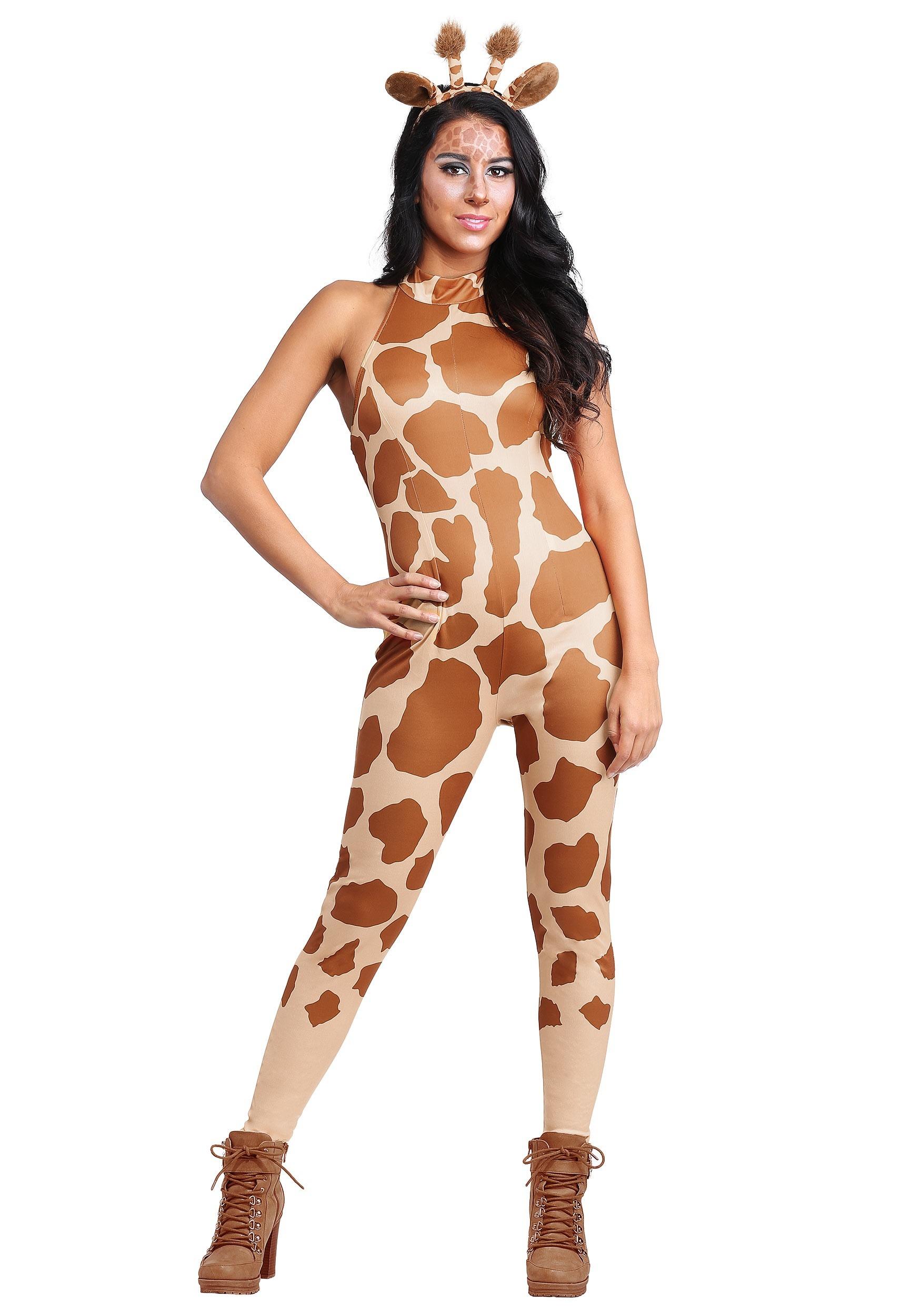 sexy giraffe womens costume