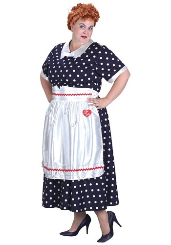 Click Here to buy Plus Size I Love Lucy Costume from HalloweenCostumes, USA Funds & Shipping
