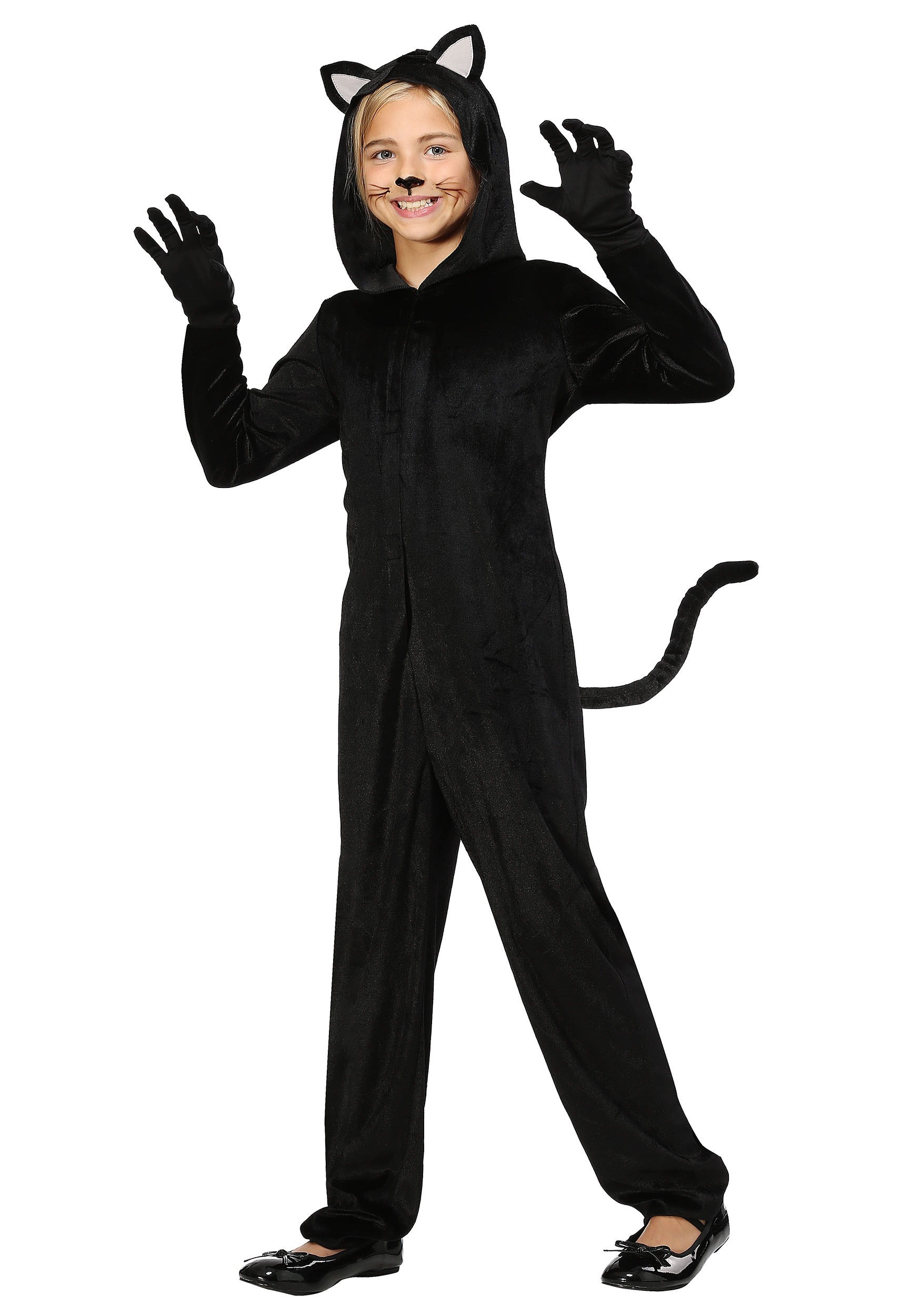 Black Cat Girls Costume  sc 1 st  Halloween Costumes & Black Cat Costume for Girls
