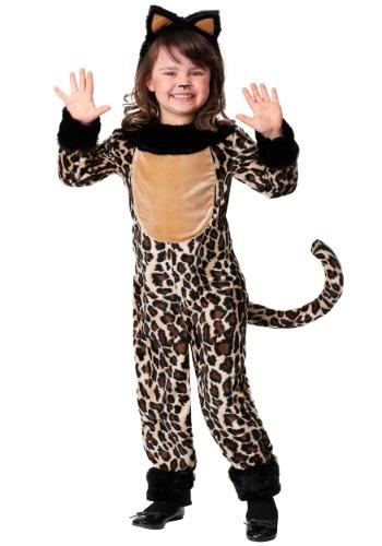 Girl's Deluxe Leopard Costume