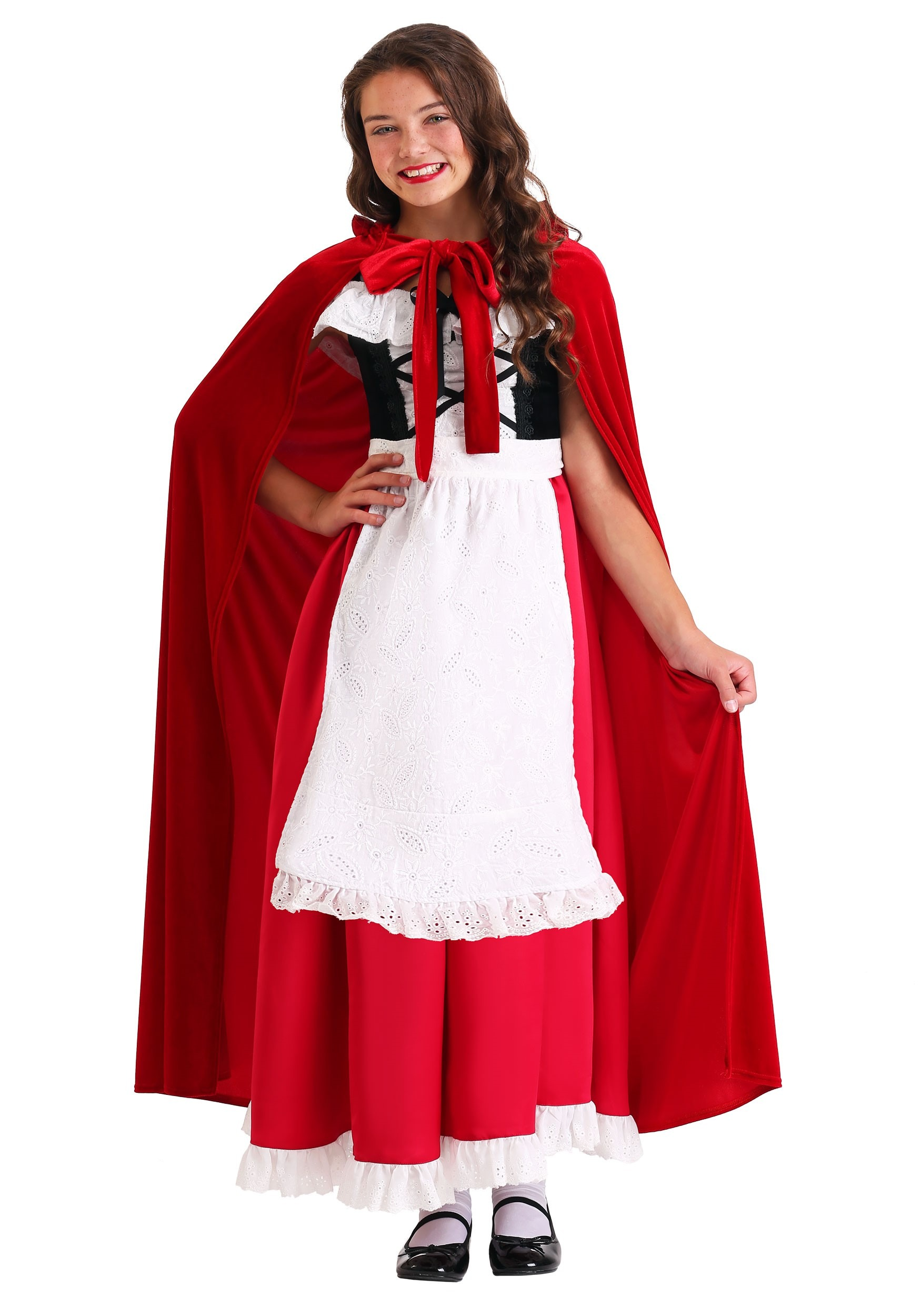 Child's Deluxe Red Riding Hood Costume