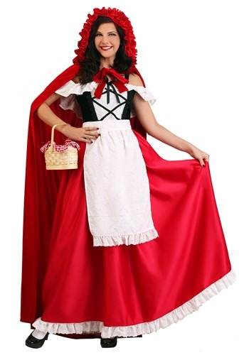 Women's Deluxe Red Riding Hood Costume new main