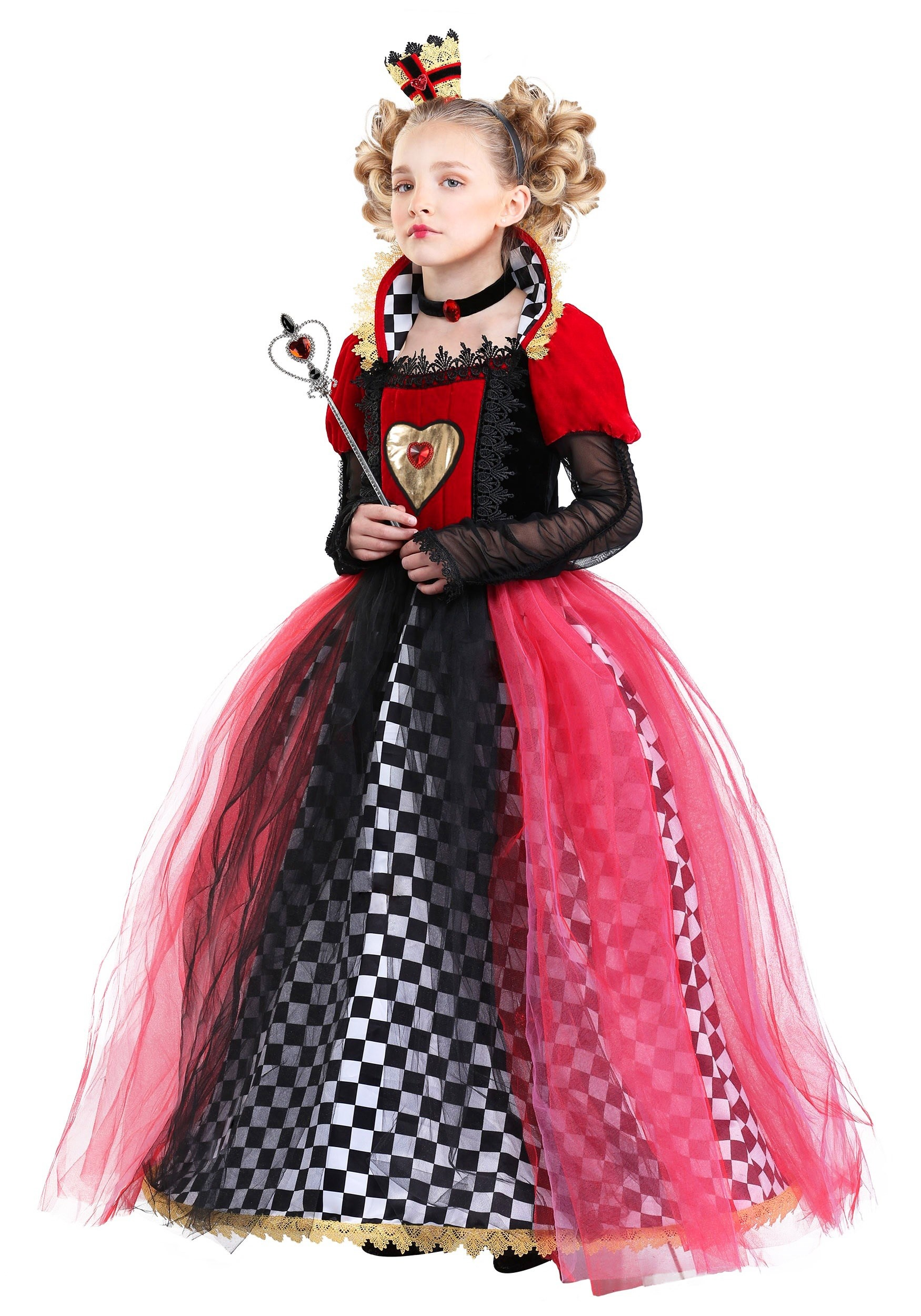 bdb70221d Ravishing Queen of Hearts Costume for Girl s