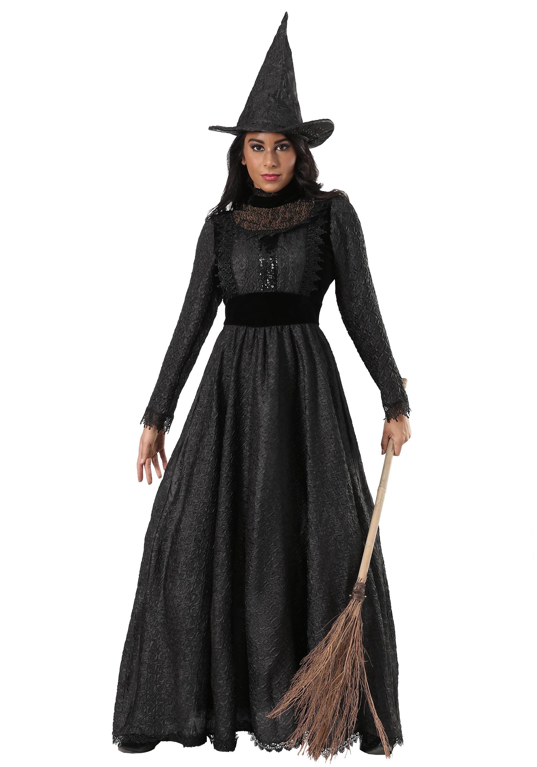 1e35c0cc45c Deluxe Plus Size Dark Witch Costume for Women 1X 2X 3X