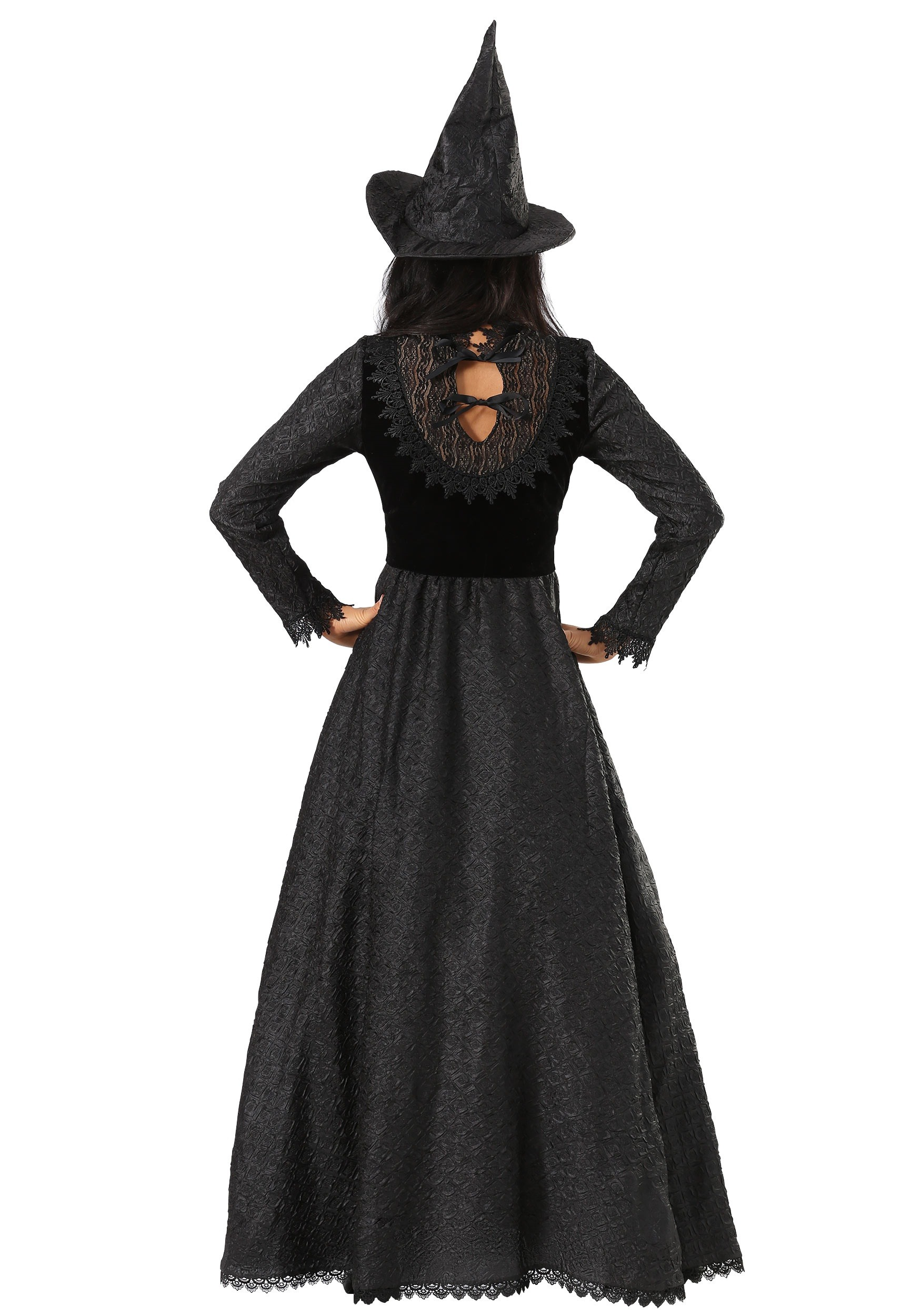 Witches /& Wizards Black Witch Plus Sized Adult Costume
