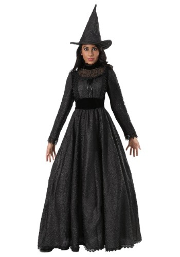 Click Here to buy Deluxe Plus Size Dark Witch Womens Costume 1X 2X 3X XL XXL XXXL from HalloweenCostumes, CDN Funds