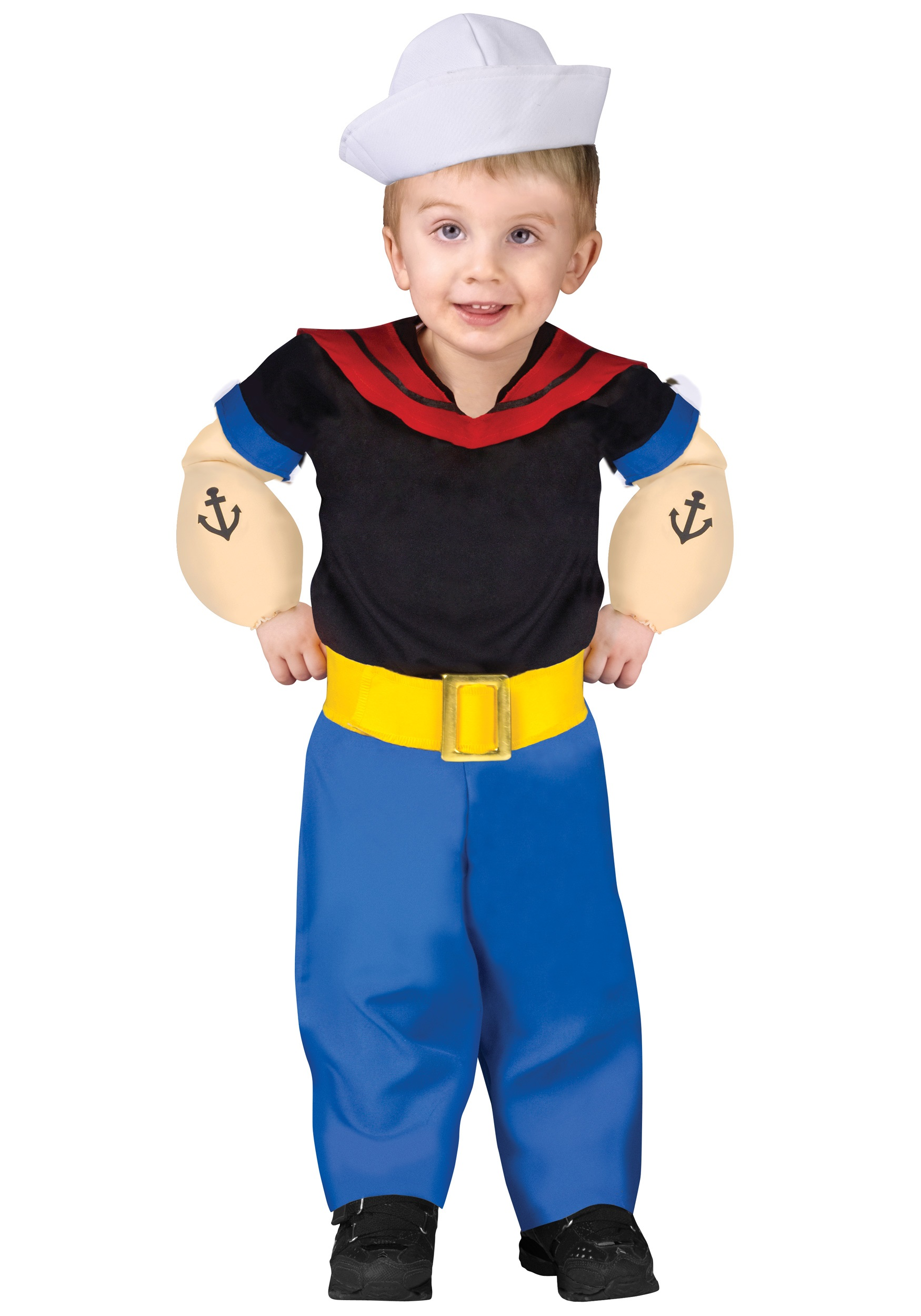 Sailor costumes navy officer uniforms halloweencostumes toddler popeye costume solutioingenieria Image collections