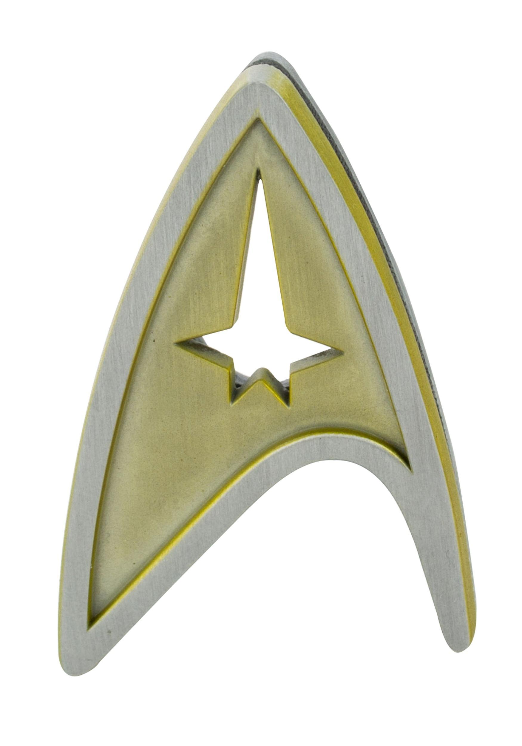 Star trek command insignia badge buycottarizona
