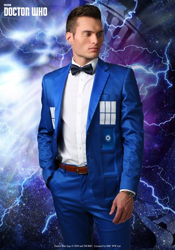 Doctor Who TARDIS Formal Suit Jacket