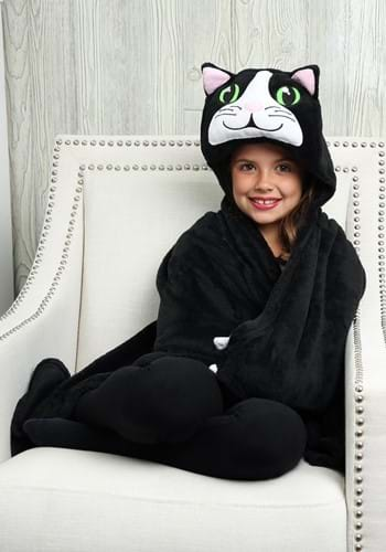 Chloe the Cat Comfy Critters Costume Blanket