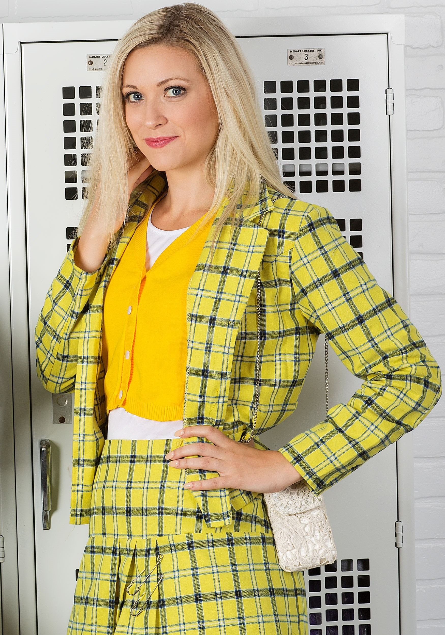 Clueless Cher Plus Size Costume For Women 80s Movie Costume