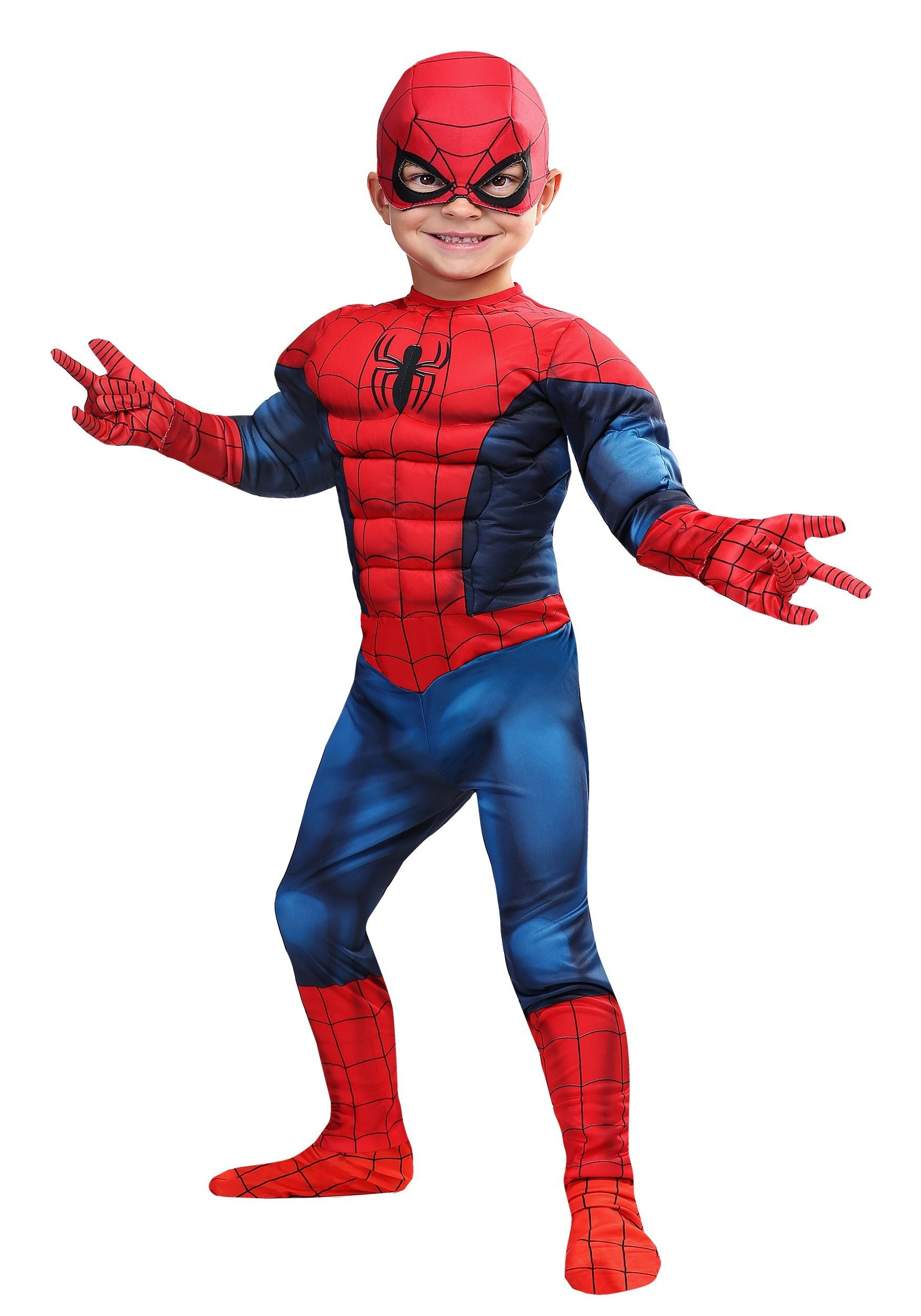 Marvel Spider-Man Toddler Costume  sc 1 st  Halloween Costumes & Kids Toddler Baby Superhero Costumes for Boys