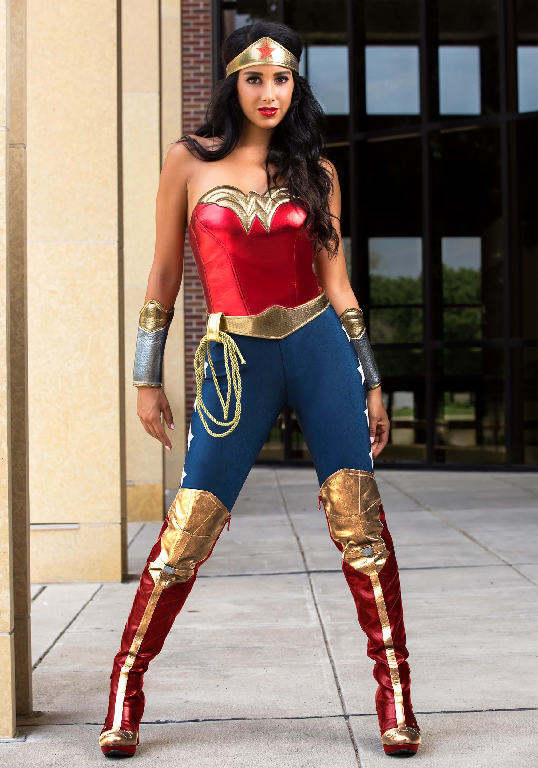 Adult DC Wonder Woman Costume  sc 1 st  Halloween Costumes & Superhero Costumes For Halloween - Marvel and DC Costumes