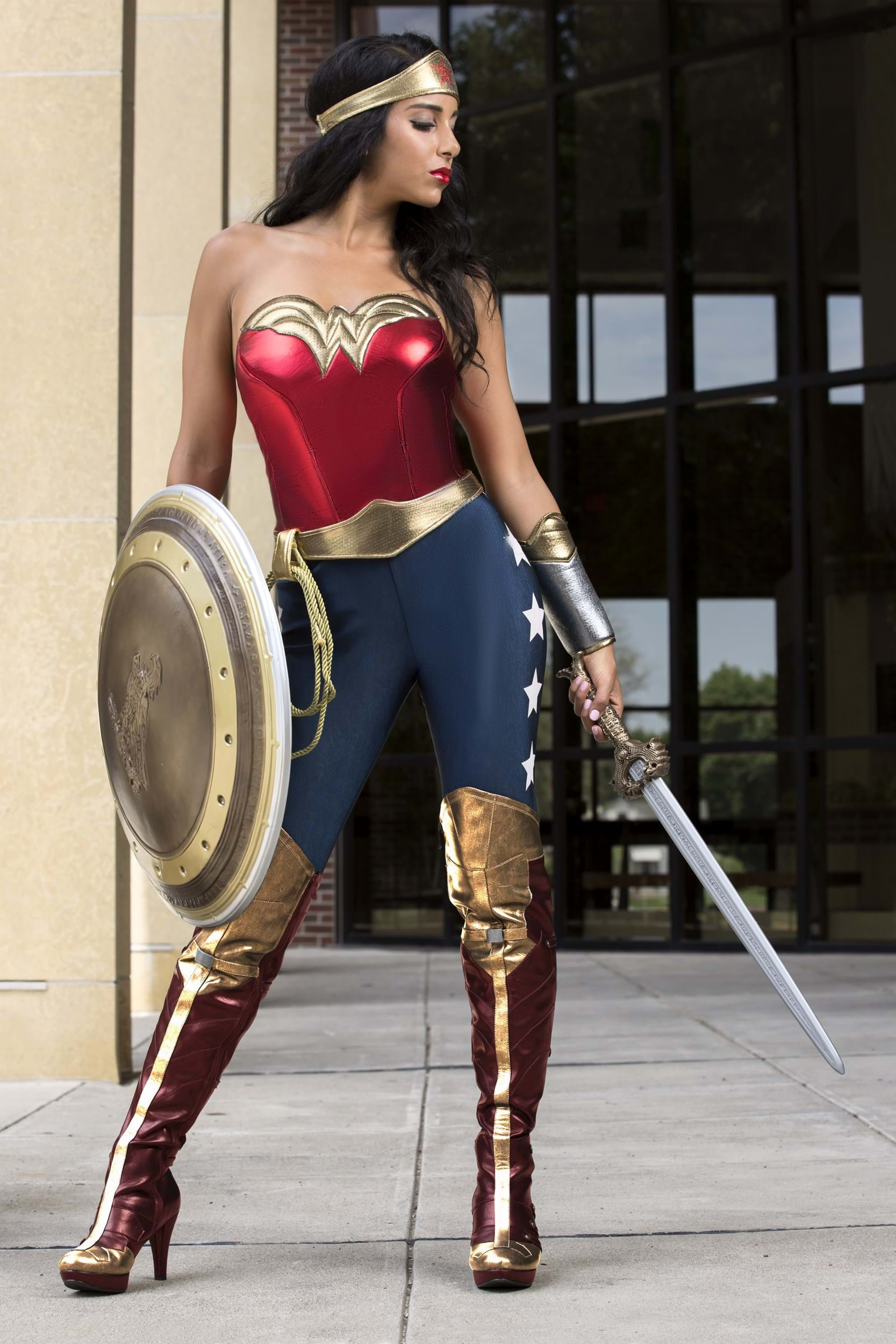 Dc Wonder Woman Adult Costume-9396
