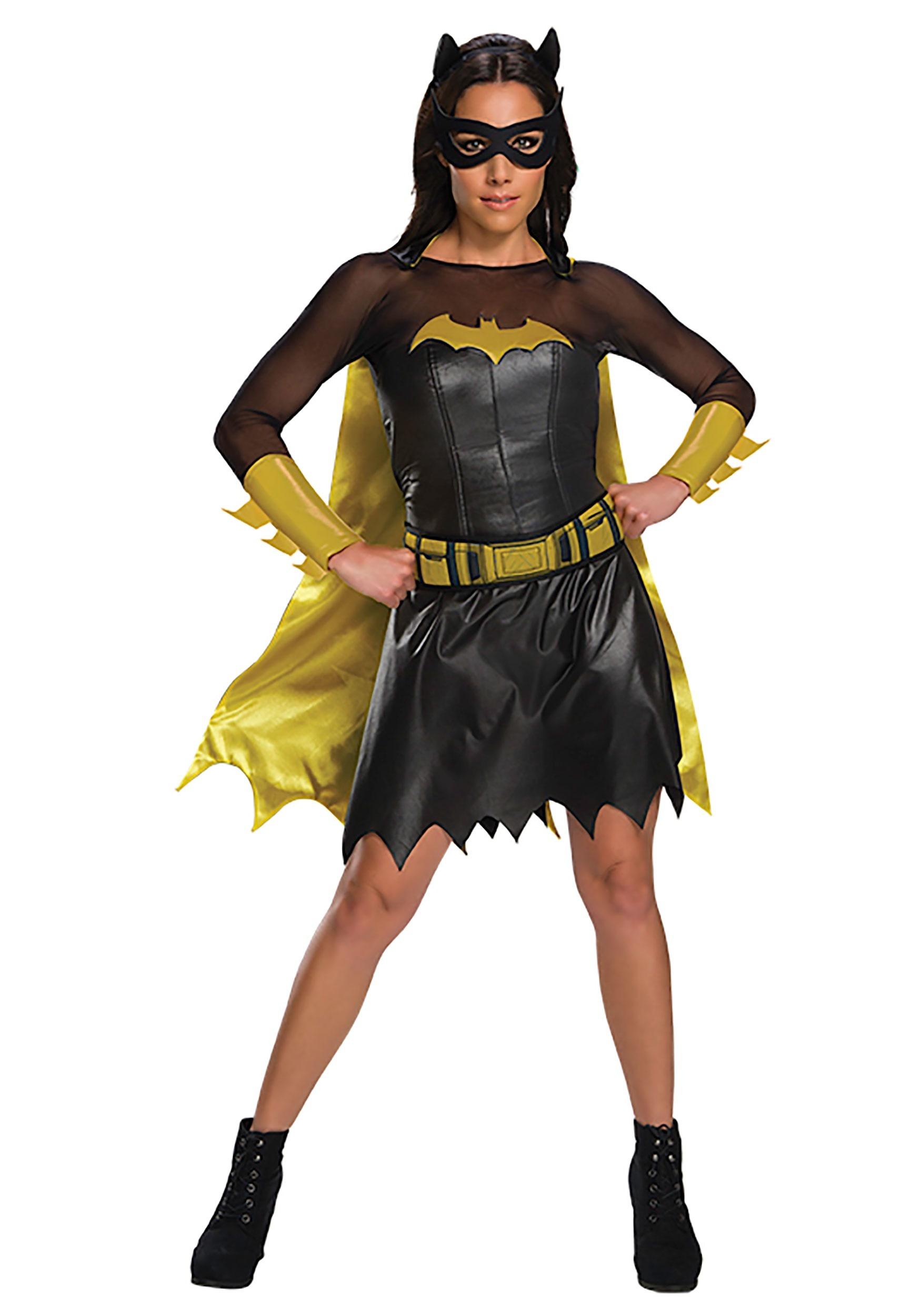 DC Deluxe Batgirl Women's CostumeBatgirl Costumes
