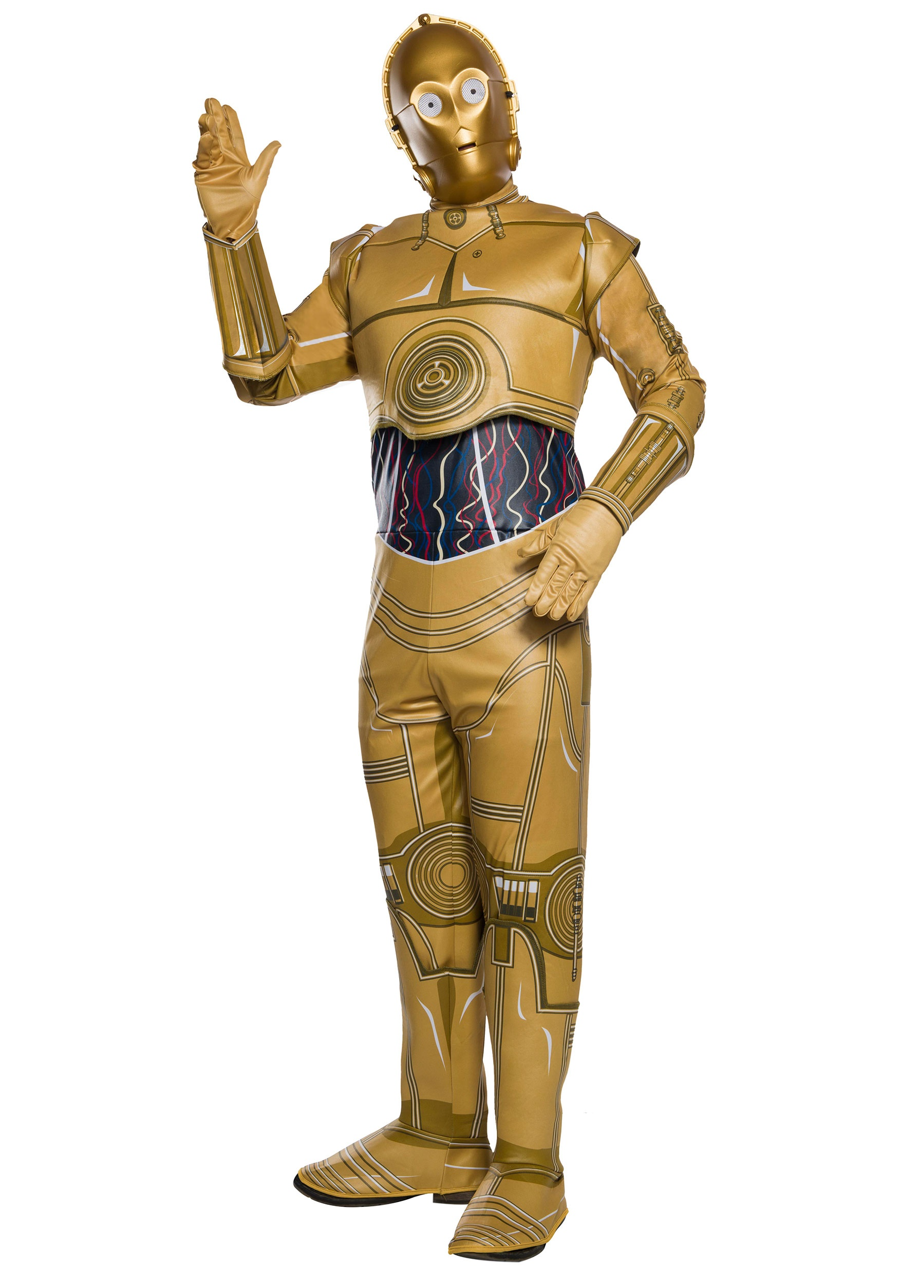 Star Wars C-3PO Adult Costume b0f4c25c0664