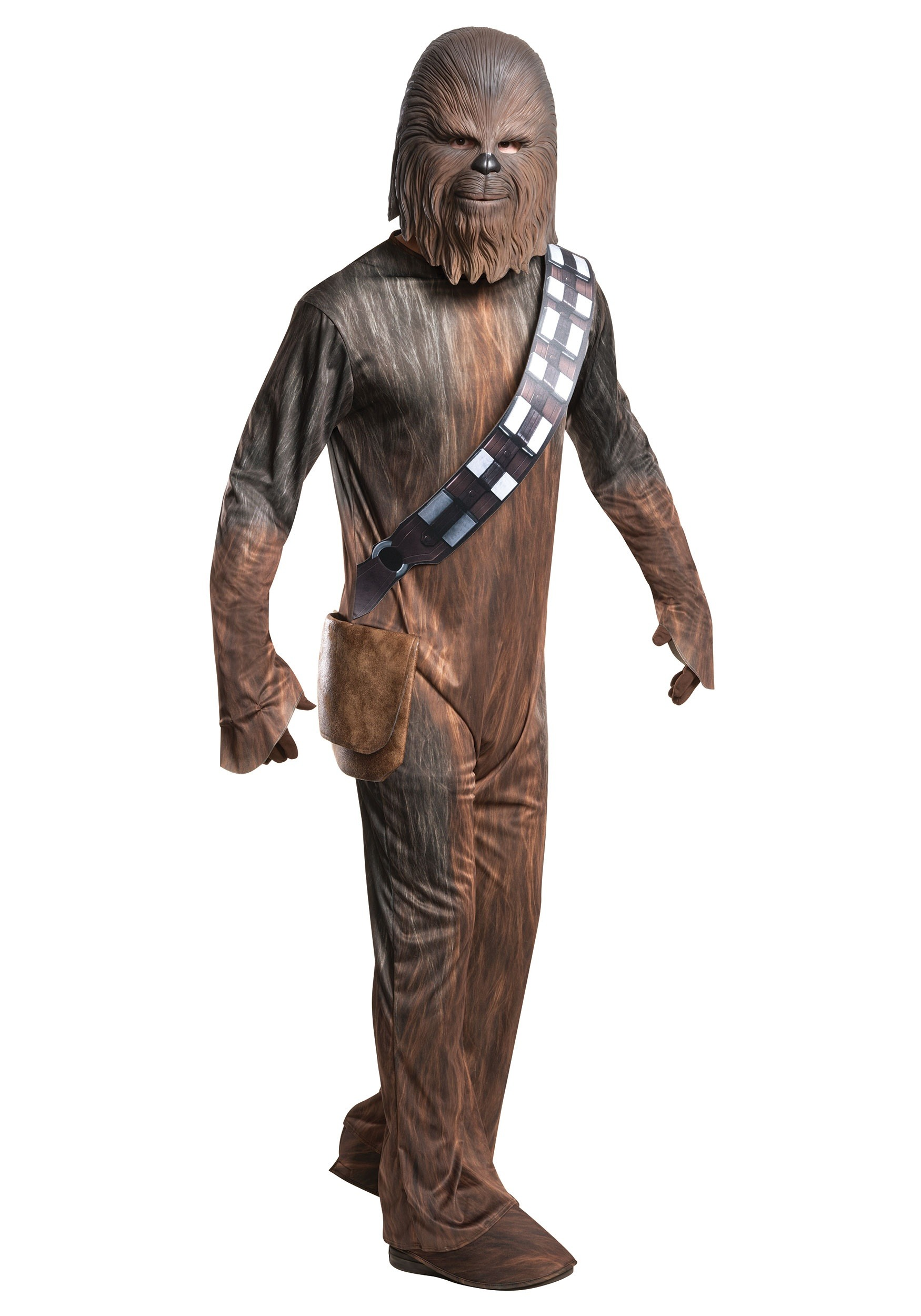 chewbacca deluxe costume for men