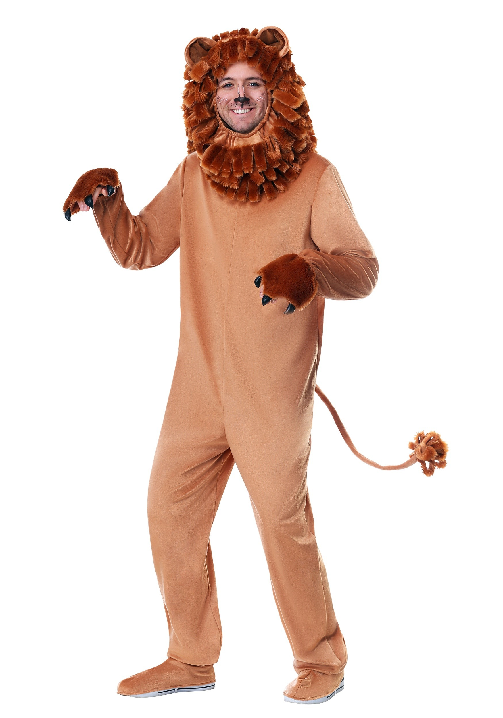 Lovable Lion Costume for Adults