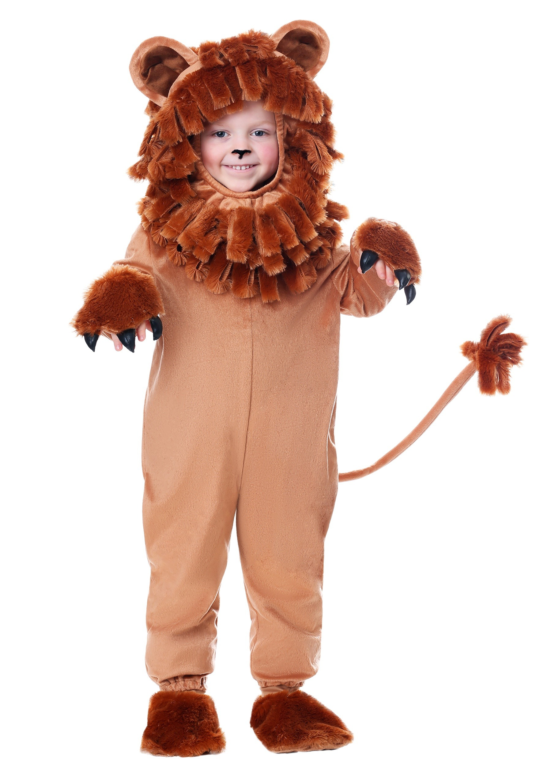 Brand New Lovable Lion King Mane Animal Jumpusit Infant Costume