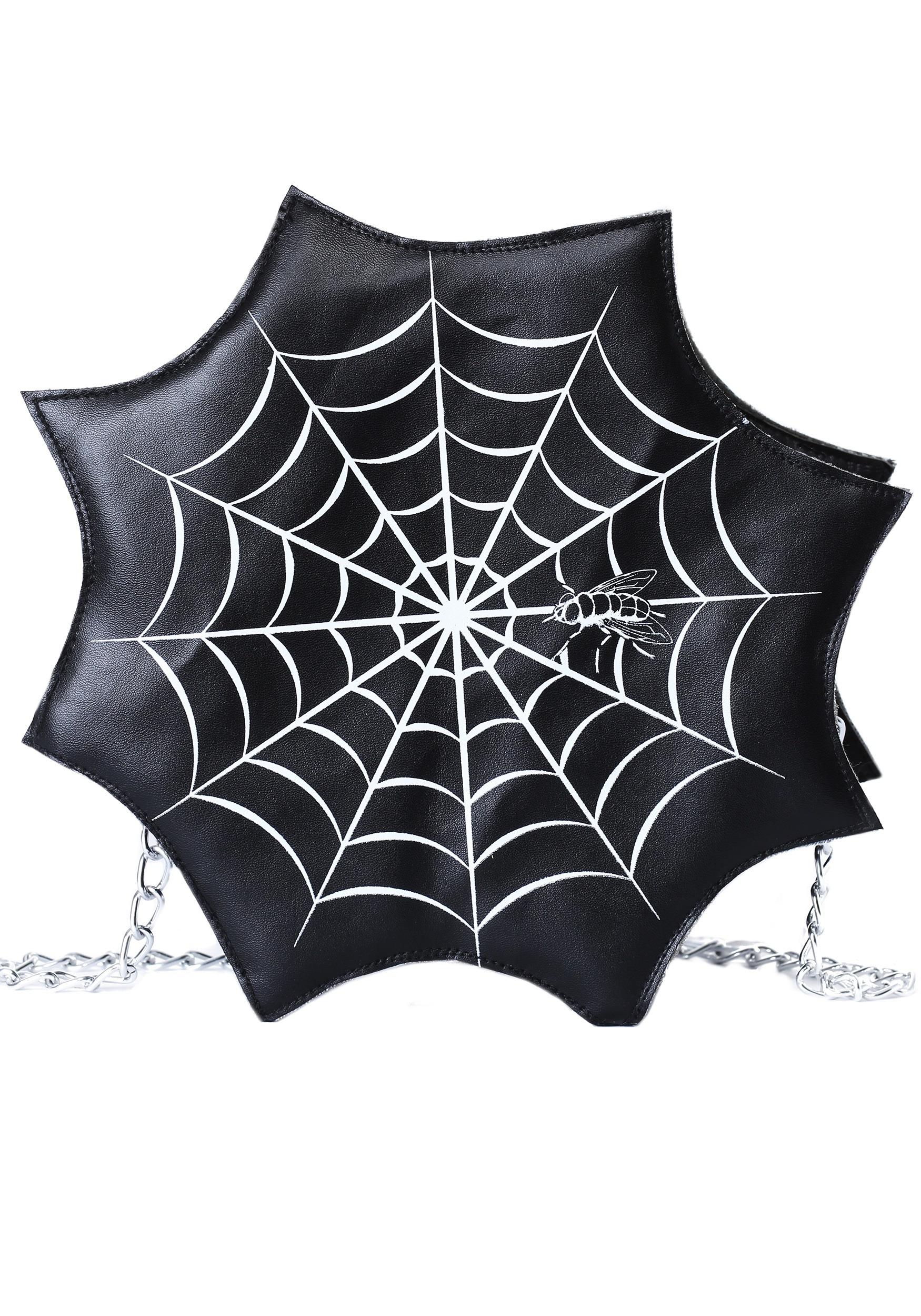 Spider Web Purse for Women (FUN2636AD-ST FUN2636AD) photo