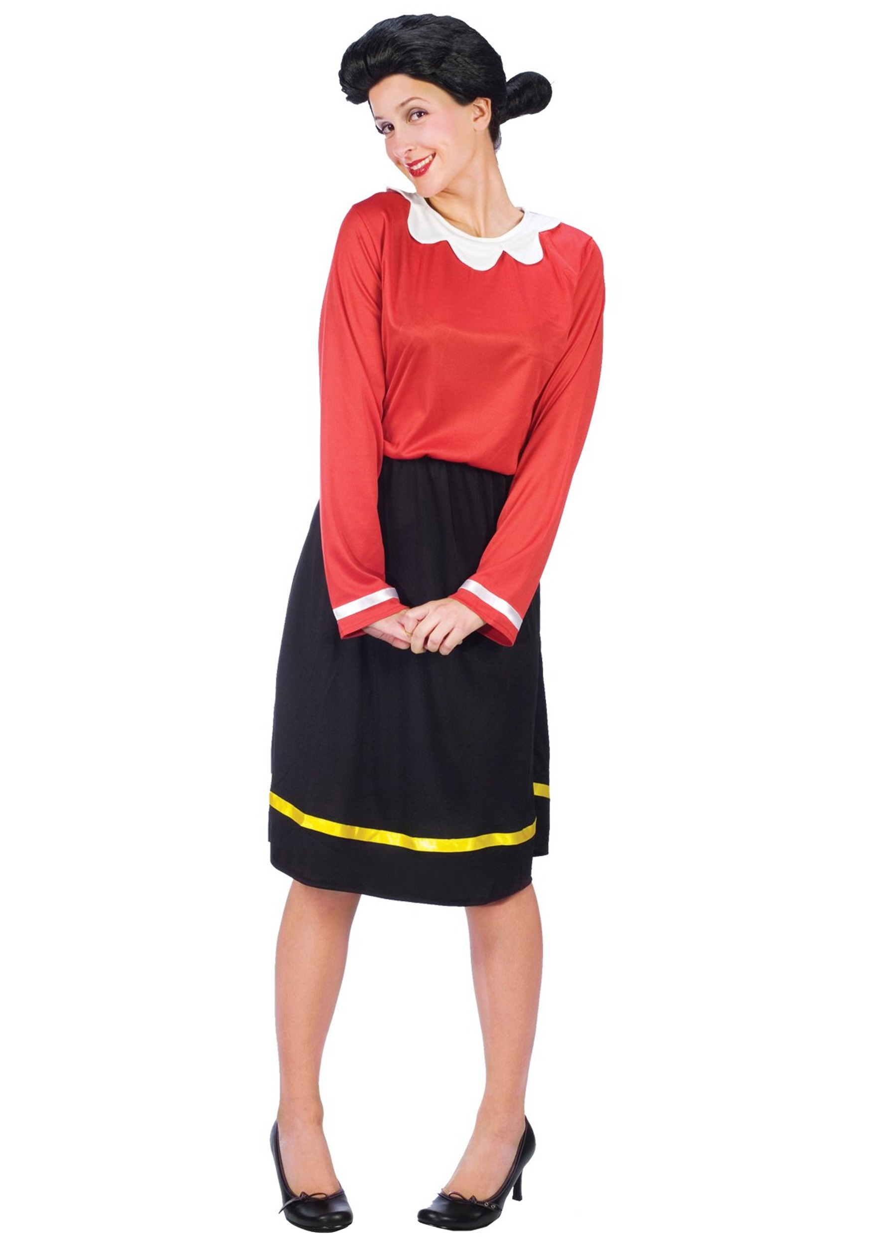 adult olive oyl costume. Black Bedroom Furniture Sets. Home Design Ideas
