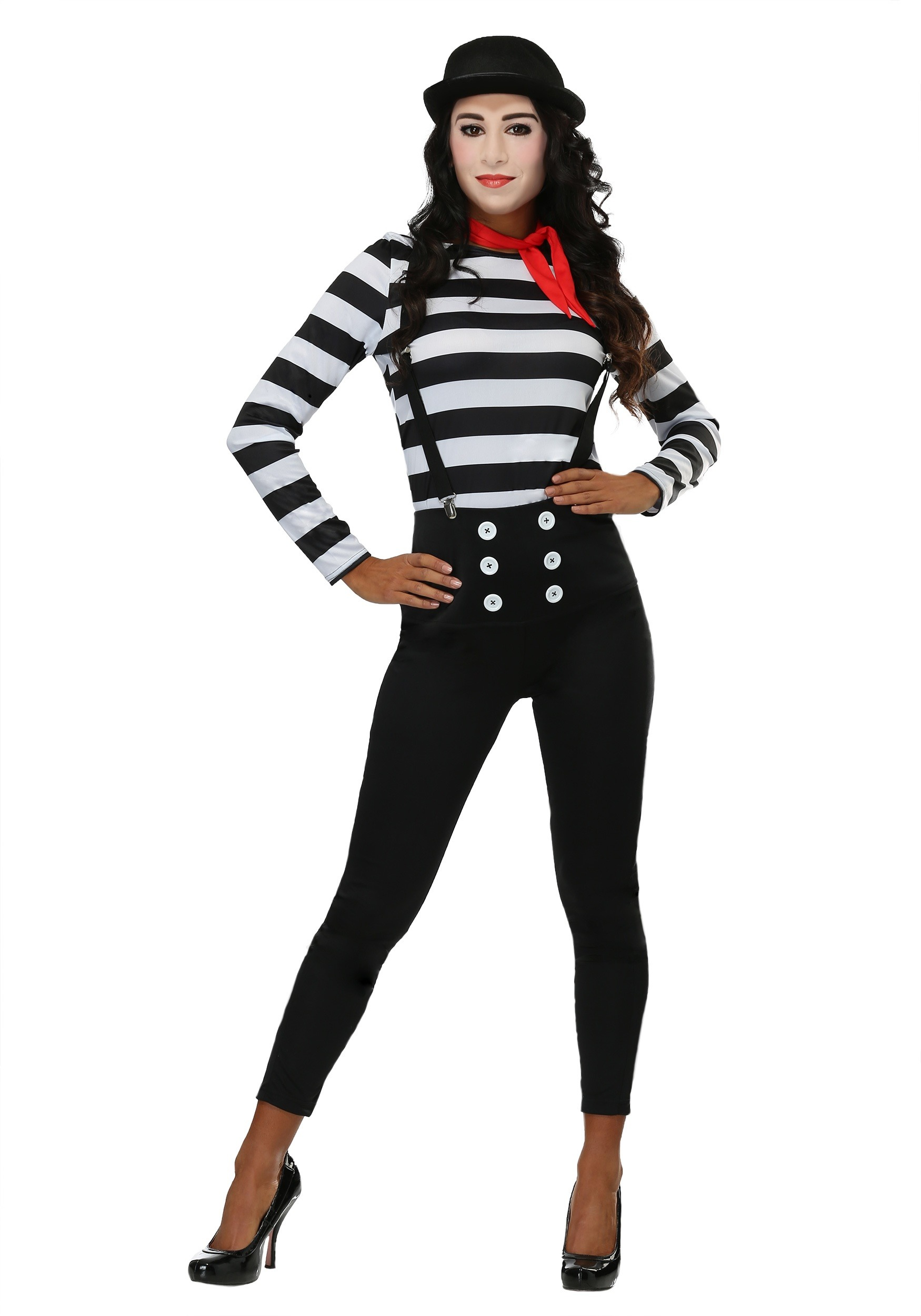 mime costume for women