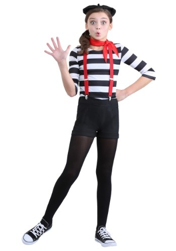 Click Here to buy Mime Girls Costume from HalloweenCostumes, CDN Funds