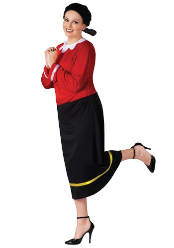 Plus Size Olive Oyl Costume   Popeye and Olive Oil