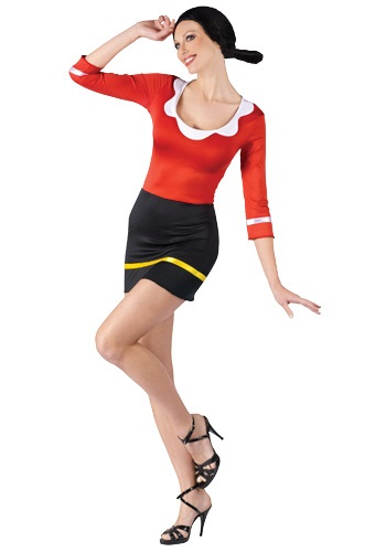 Sexy Olive Oyl Costume By: Fun World for the 2015 Costume season.