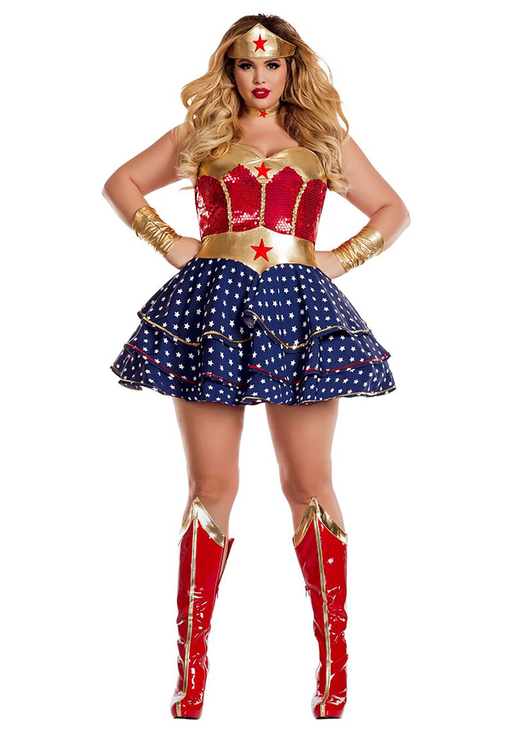 wonderful sweetheart plus size costume for women