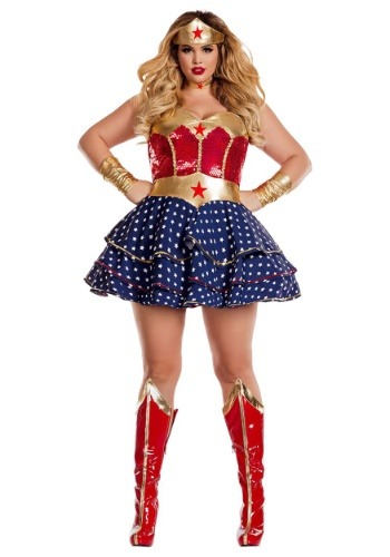 Wonderful Sweetheart Plus Size Women's Costume PKPK819XL