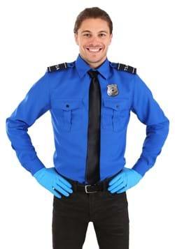 TSA Agent Blue Long sleeved Costume Shirt Upd