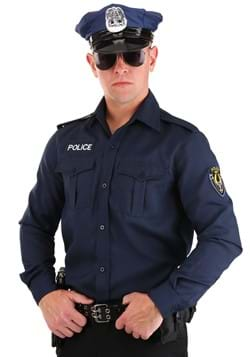 Adult Long Sleeve Police Shirt Upd