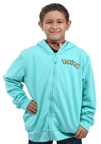 Image of Pokemon Bulbasaur Costume Hoodie for Kids