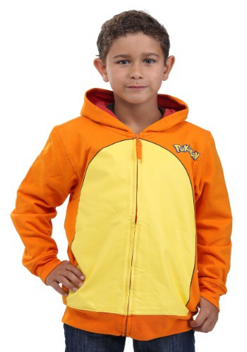 Image of Pokemon Charmander Costume Hoodie for Kids