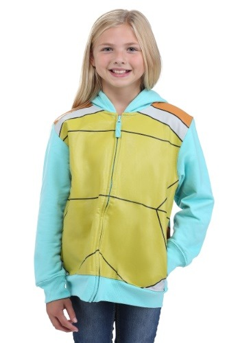 Image of Pokemon Squirtle Kids Costume Hoodie for Kids
