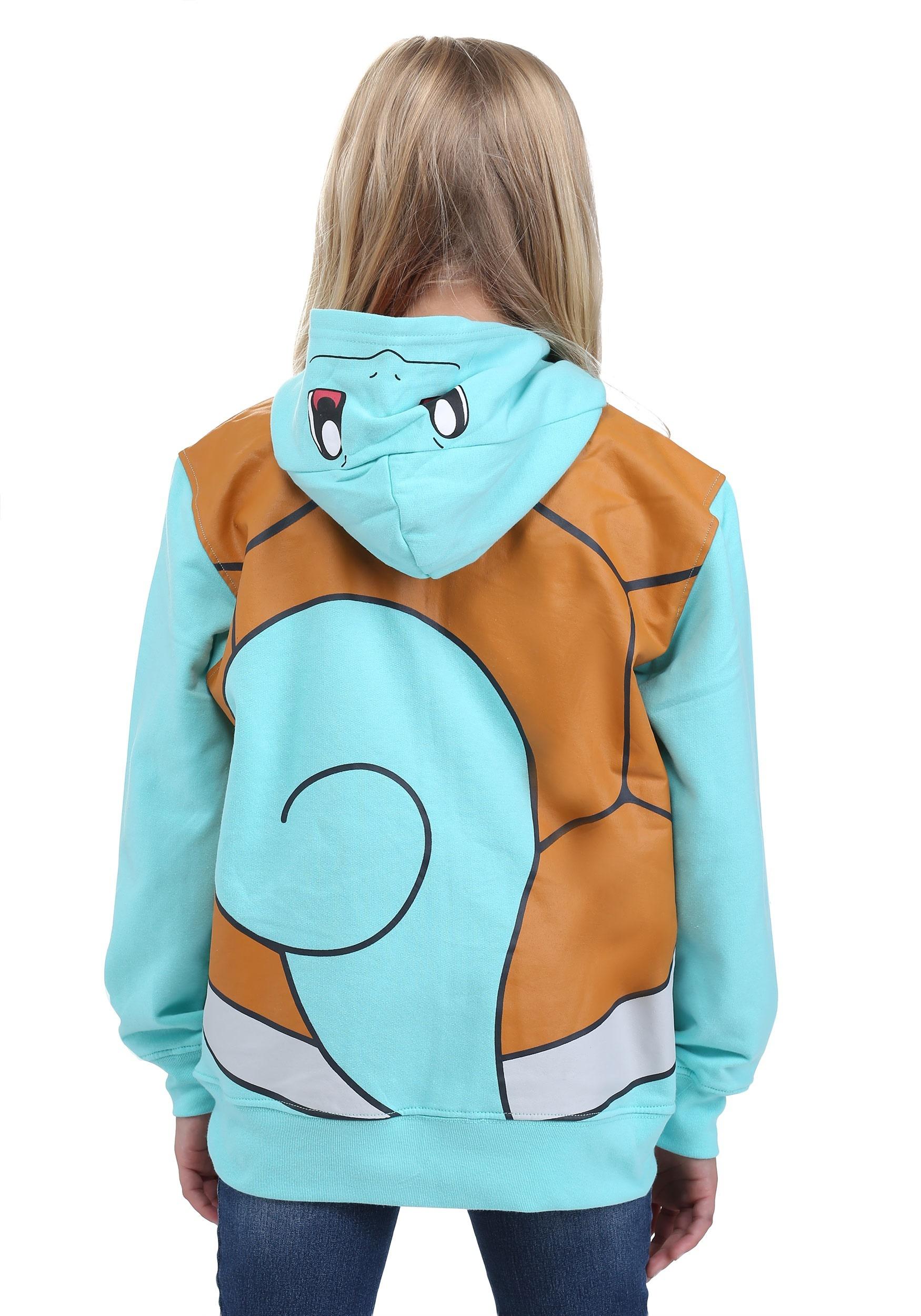 Pokemon Squirtle Kids Costume Hoodie For Kids-2901