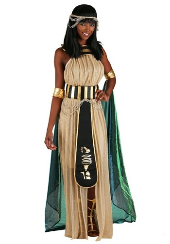 Womens All Powerful Cleopatra Plus Size Costume