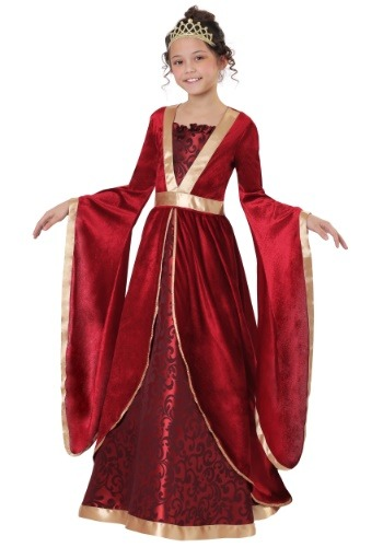 Click Here to buy Renaissance Maiden Girls Costume from HalloweenCostumes, CDN Funds